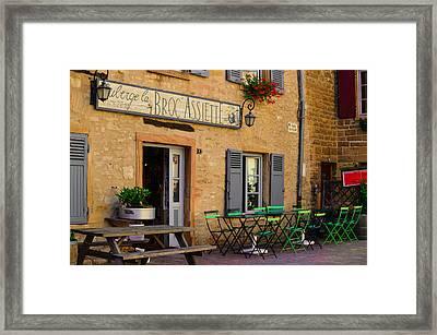 French Auberge Framed Print
