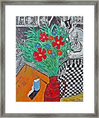 French Breakfast Framed Print by Matthew  James