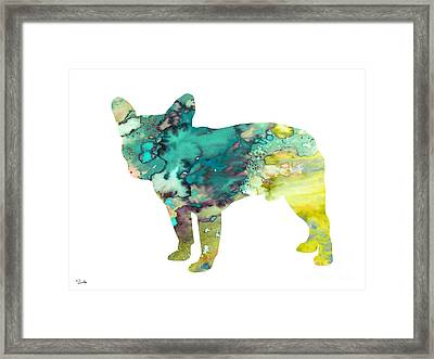 French Bulldog 5 Framed Print by Luke and Slavi