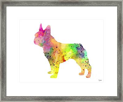 French Bulldog 6 Framed Print