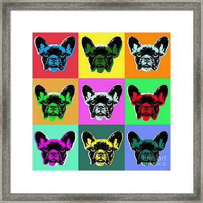 French Bulldog Framed Print by Jean luc Comperat