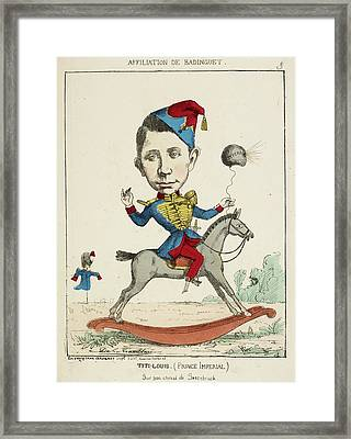 French Caricature - Titi-louis Framed Print by British Library