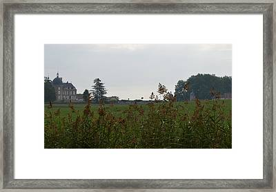 French Chateau Framed Print