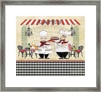 French Chefs-jp2250 Framed Print by Jean Plout