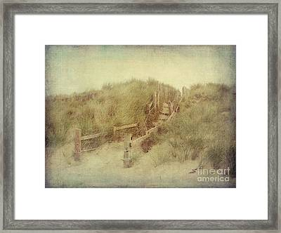 French Coast Beach #2 Framed Print