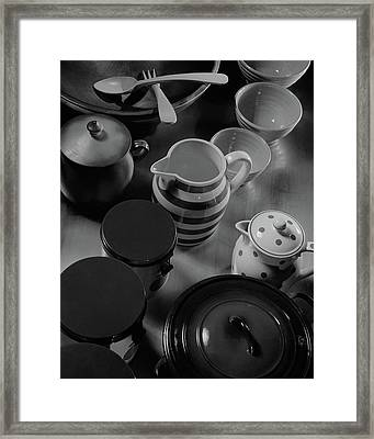 French Cookware Framed Print