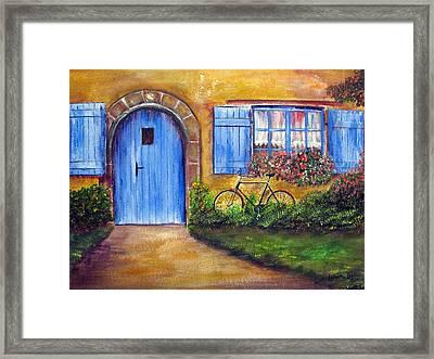 French Cottage Framed Print by Loretta Luglio