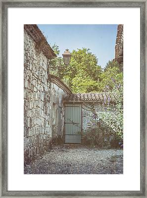 French Country Cottage Framed Print