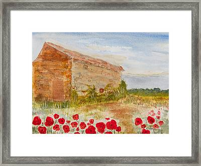 Country Side Framed Print