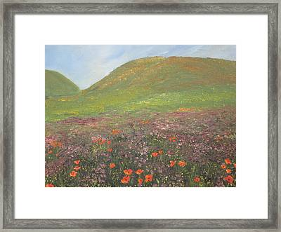 French Countryside Framed Print by Barbara McDevitt