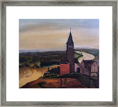 French Countryside Framed Print by Jessica Sanders