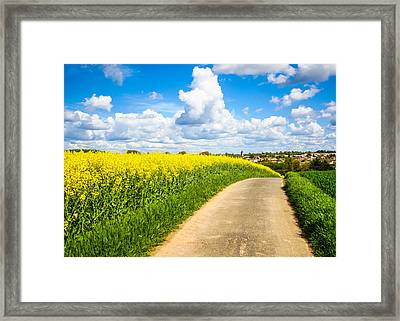 French Countryside Framed Print