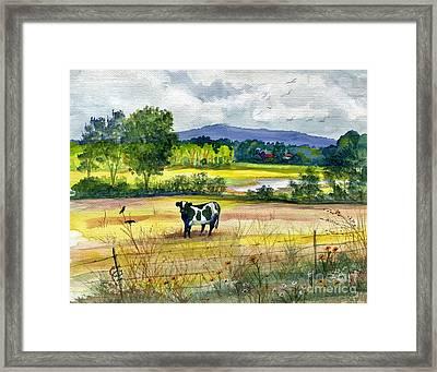 French Creek Farm Framed Print by Marilyn Smith
