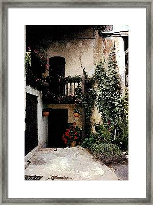 French Door Framed Print by Patricia Rufo