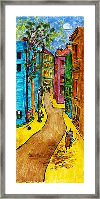 French Dream #2 Framed Print