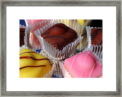 French Fancies Framed Print