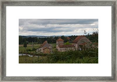 French Farm House Framed Print