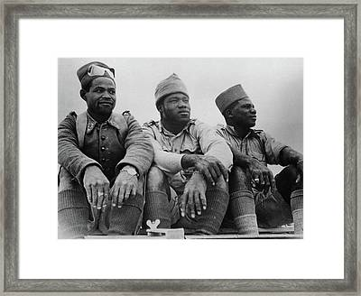 French Foreign Legion, 1942 Framed Print by Granger