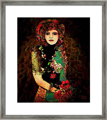 French Girl Framed Print by Natalie Holland