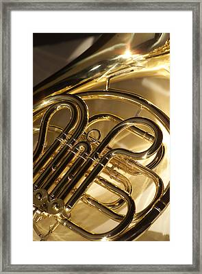 French Horn I Framed Print