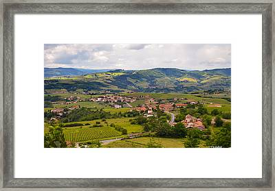 French Landscape 2 Framed Print by Allen Sheffield