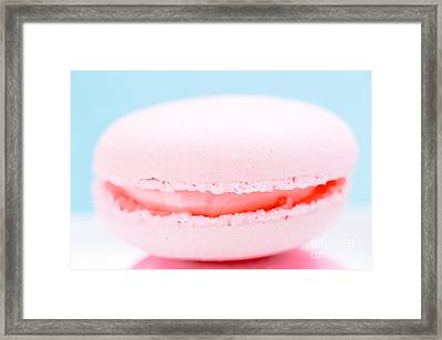 French Macaron Cookie Framed Print by Edward Fielding