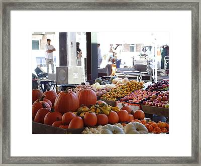 French Market - New Orleans Framed Print by Katie Spicuzza