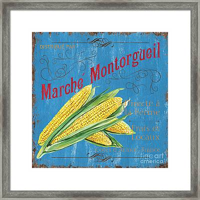 French Market Sign 2 Framed Print by Debbie DeWitt