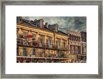 French Market View Framed Print