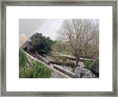 French Monastery Fortification  Framed Print by Mieczyslaw Rudek