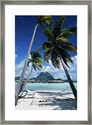 French Polynesia, Bora Bora, View Framed Print by Stuart Westmorland