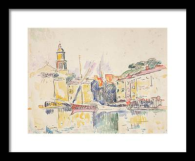 Azur Drawings Framed Prints