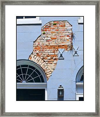 French Quarter Architecture Framed Print by Ray Devlin