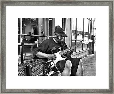 French Quarter Blues Framed Print by Mike Barch