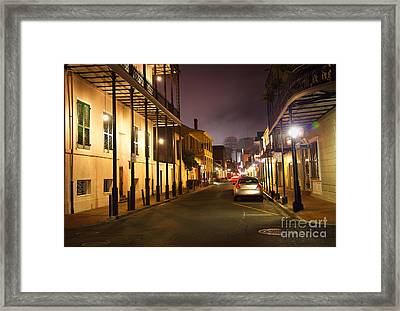 French Quarter Framed Print by Denis Tangney Jr