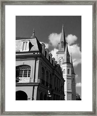 French Quarter - New Orleans Framed Print by Mike Barch