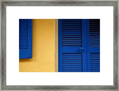 French Quarter Scenes V Framed Print
