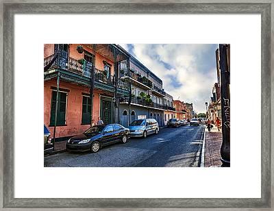 French Quarter Framed Print by Sennie Pierson