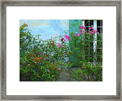 French Quarter Framed Print by Sherry Dooley