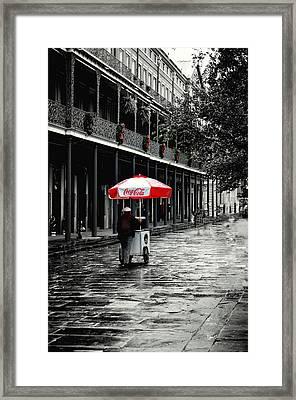 French Quarter Solitude...... Framed Print