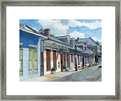 French Quarter Street 211 Framed Print by John Boles