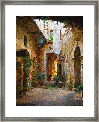 French Quarters 2 Framed Print