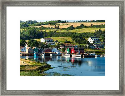 French River Framed Print by Matt Dobson