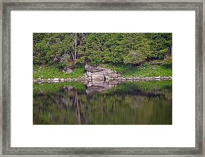 Framed Print featuring the photograph French River Ontario Canada by Marek Poplawski