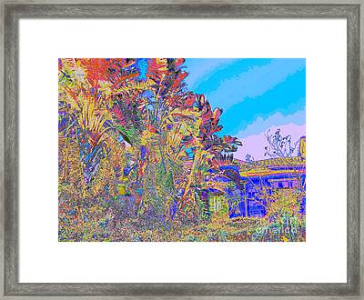 French Rivera Good Life Framed Print by Raphael OLeary