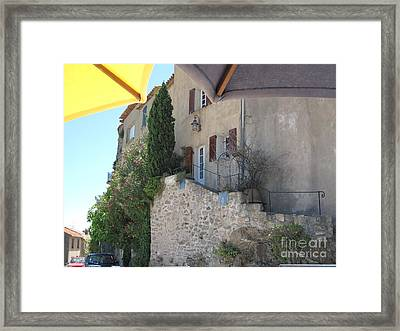 French Riviera - Ramatuelle Framed Print