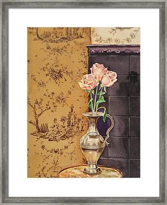 French Roses Framed Print by Irina Sztukowski