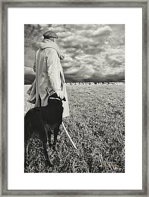French Shepherd - B W Framed Print