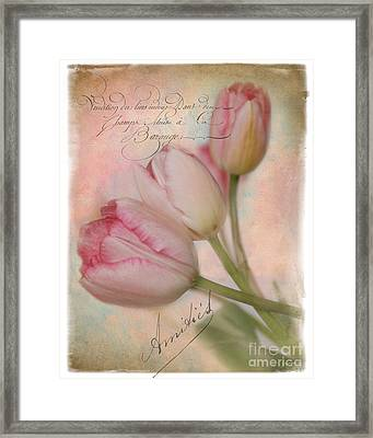 French Touch Framed Print
