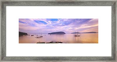 Frenchman Bay, Bar Harbor, Maine, Usa Framed Print by Panoramic Images